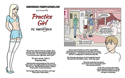 実践 女の子