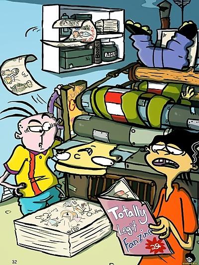 Cartoon Cartoons Zine 2017 - part 2