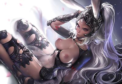 Sakimichans Nude works - part 7