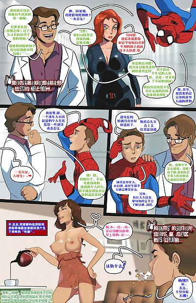 Auntcumming Spider-Man..