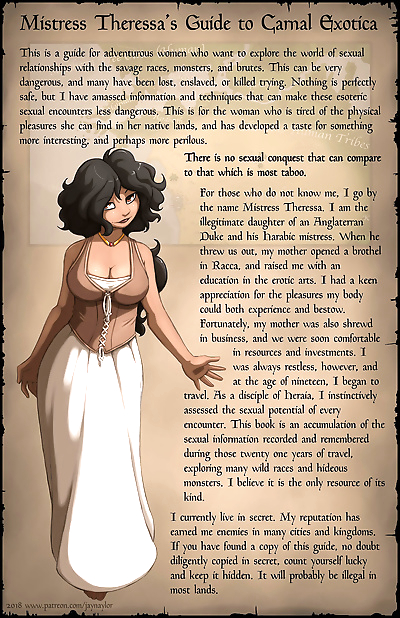 Mistress Theresas Guide to Carnal Erotica