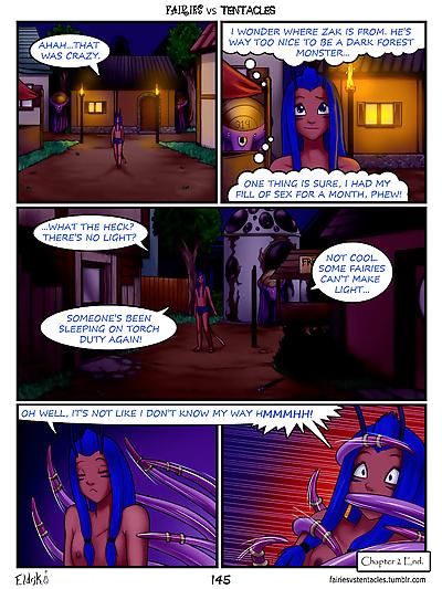 Fairies vs Tentacles Ch. 1-3 - part 8
